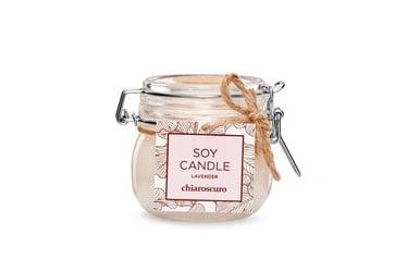 Ароматическая свеча Mondex Soy Candle Lavender, 130 мл