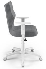 Офисный стул Entelo Duo AL03, белый/серый