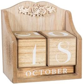 Home4you Wooden Calendar Blocks 14x7.5xH15cm