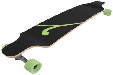 No Rules D3 Longboard Black / Green