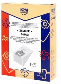 K&M Vacuum Cleaner Bags 5 Z-BAG For Zelmer
