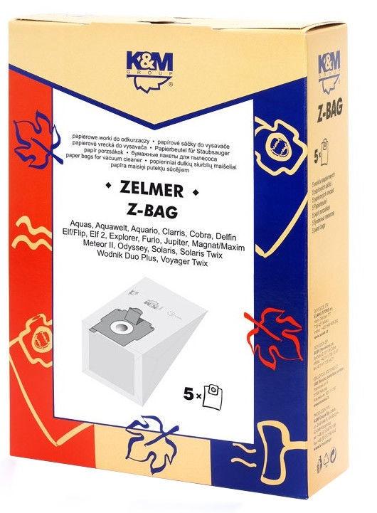 Dulkių siurblio maišelis K&M Z-BAG For Zelmer, 5 vnt.