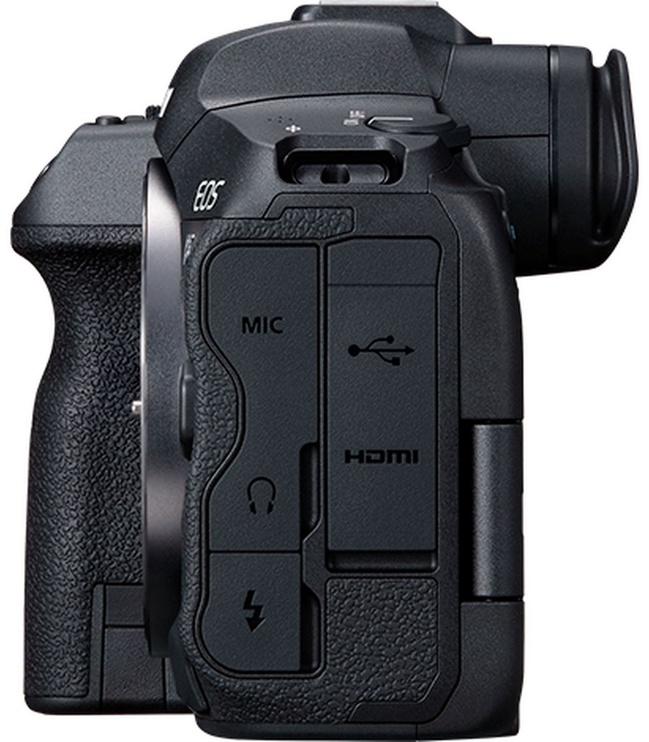 Canon EOS R5 Body + Mount Adapter EF-EOS R Black