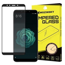 Wozinsky Full Glue Super Tough Screen Protector Full Coveraged For Xiaomi Mi A2 Black