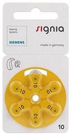Siemens Signia A10 Hearing Aid Batteries 6x