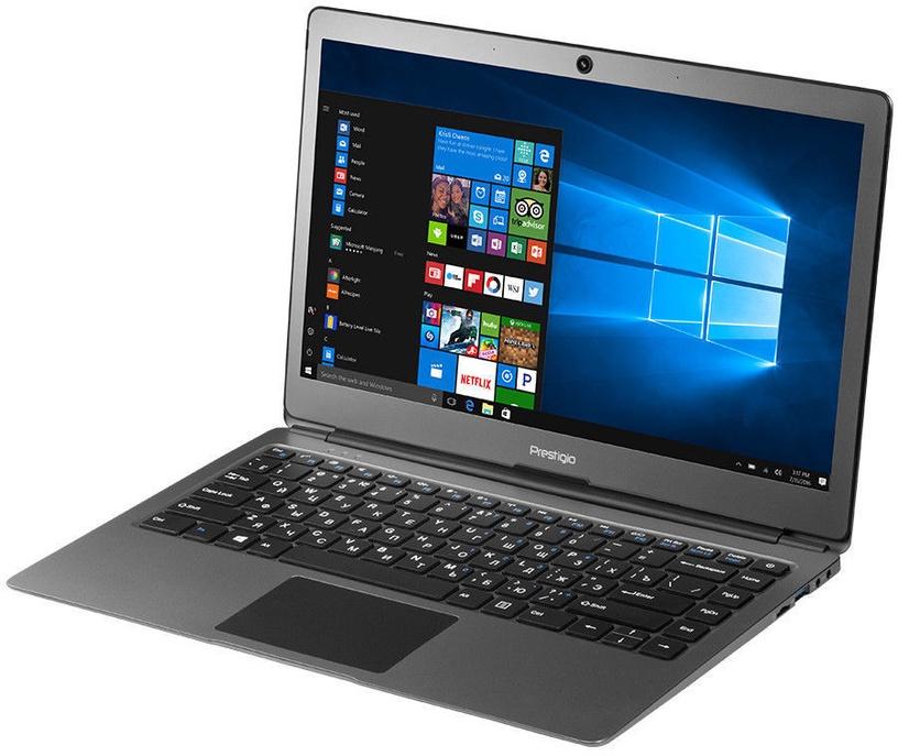 Nešiojamas kompiuteris Prestigio SmartBook PSB133S SSD 256GB Metal Dark Grey