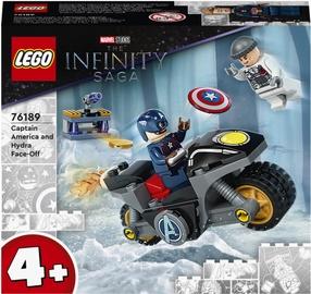 Конструктор LEGO Marvel Captain America And Hydra Face Off 76189, 49 шт.