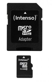 Intenso 16GB Micro SDHC Class 10 + Adapter