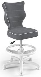 Детский стул Entelo Petit Black HC+F Size 4 JS33 White/Dark Grey, 370x350x950 мм