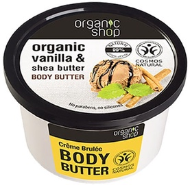Organic Shop Body Butter Creme Brulee 250ml