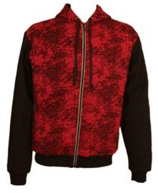 Пиджак Bars Mens Training Jacket Black/Red XXL