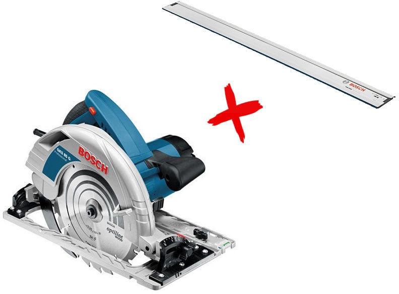 Bosch GKS 85 Circular Saw + FSN 1600 060157A902