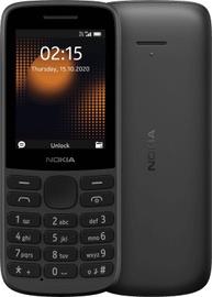 Мобильный телефон Nokia 215 4G, черный, 64MB/128MB