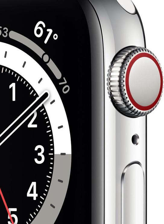 Умные часы Apple M09E3EL/A, серебристый