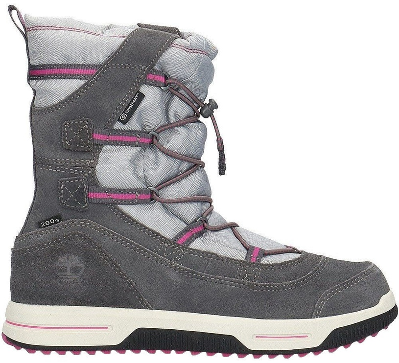 Timberland Snow Stomper Pull On WP Jr A1UJ7 Grey 38