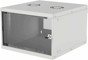 "Intellinet 19"" Basic Wallmount Cabinet 6U 560mm Gray 714792"