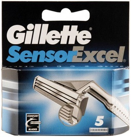 Gillette Sensor Excel Razor Blades 5pcs