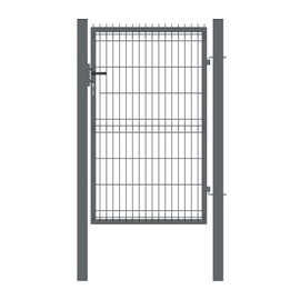 Garden Center Gate RAL7016 1000x1530mm Grey