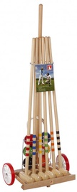 Londero Croquet Cart Set 80cm 6 Players Wood