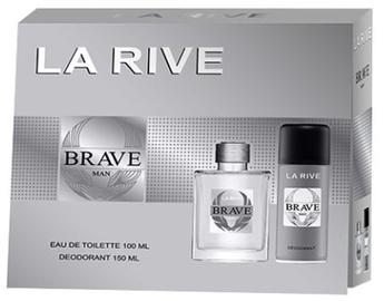 Набор для мужчин La Rive Brave Man 100 ml EDT + 150 ml Deodorant Spray