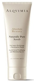 Veido odos šveitiklis Alqvimia Naturally Pure Scrub, 200 ml