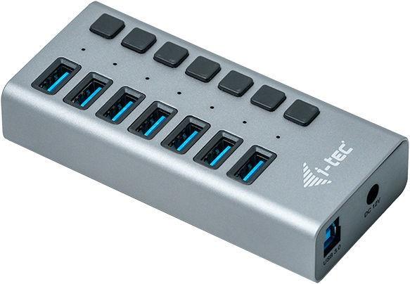 USB-разветвитель (USB-hub) i-Tec USB 3.0 7-Port Hub + Power Adapter 36W