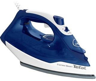 Утюг Tefal Express Steam FV2838E0, синий/белый