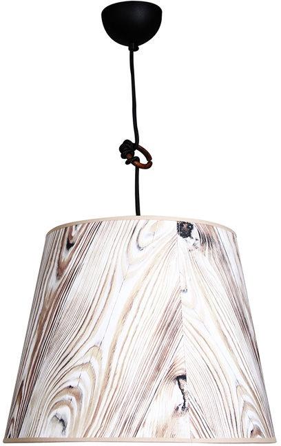 Wofi Ancona 60W E27 Black/Wood 060206