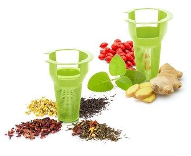 Tescoma Teo Tea Jug With Strainer 1.7l Green