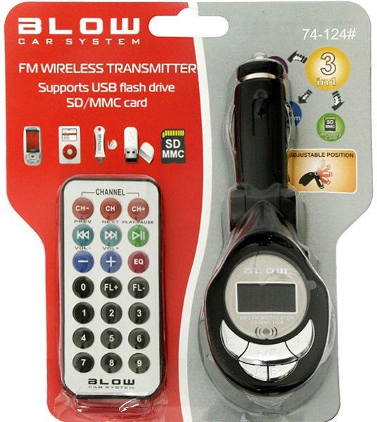 Blow FM Transmitter 74-124#
