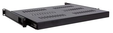 """Linkbasic Sliding Shelf 19"""" for Cabinet 600mm Black"""