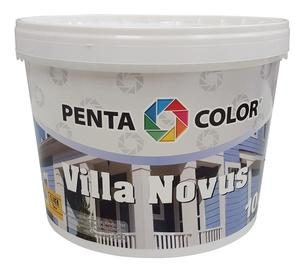 Krāsa fasādēm Pentacolor Villa Novus, 10 l, ķiršu krāsā