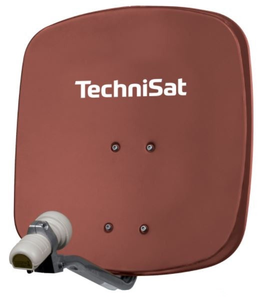 TechniSat TV Sat DigiDish 45 Single Red