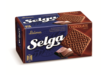 Sausainiai Selga šokoladiniai, 180 g