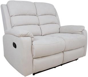 Диван Home4you Manuel 13875, белый, 95 x 138 x 103 см