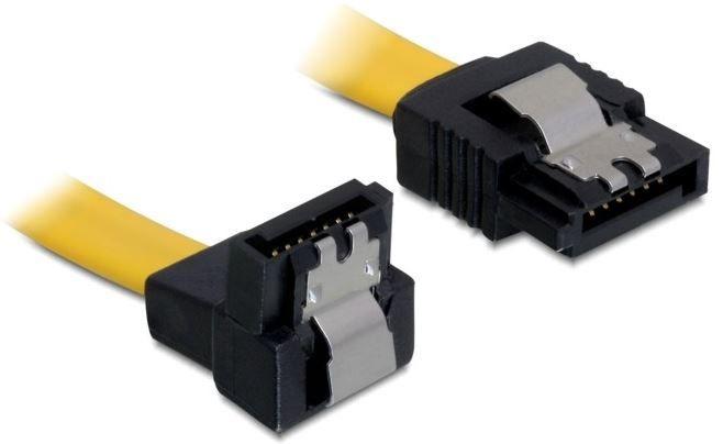 Delock Cable SATA / SATA Yellow 0.70 m