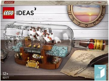 Konstruktor LEGO Ideas Laev pudelis 92177, 962 tk