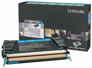 Lazerinio spausdintuvo kasetė Lexmark C736H1CG Cyan
