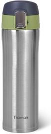 Fissman Double Wall Vacuum Travel Mug 420ml Green