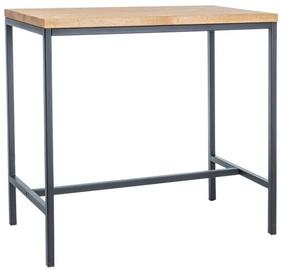 Signal Meble Bar Table Metro 110x100cm Dab/Black