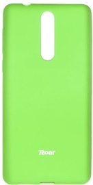 Roar Colorful Jelly Back Case For Nokia 8 Lime