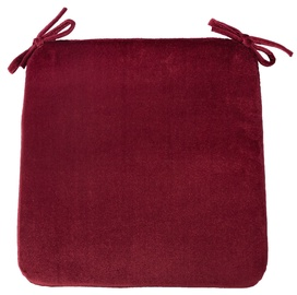 Home4you Deluxe 2 Chair Pad 39x39cm Bordeaux