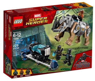 Konstruktorius Lego Marvel Super Heroes Rhino Face-Off By The Mine 76099