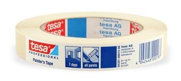Augst kvalitāte krāsotāju lente 50mx30mm (TESA)