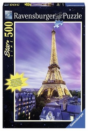 Puzle Ravensburger Star Line Beautiful Eiffel Tower, 500 gab.