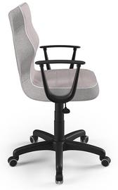 Детский стул Entelo Norm CR08, черный/розовый, 375 мм x 1010 мм