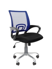 Chairman 696 Silver TW Office Chair Blue