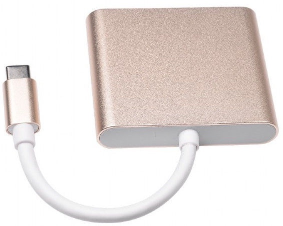 Gembird Adapter HDMI to USB Type-C Gold