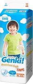 Genki Premium Soft Tape Diapers XL 44