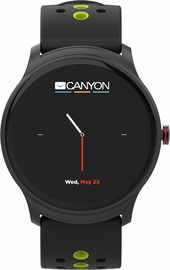 Išmanusis laikrodis Canyon Oregano Smartwatch CNS-SW81BG Black/Green